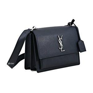 Saint Laurent Medium Monogram Sunset Leather Bag
